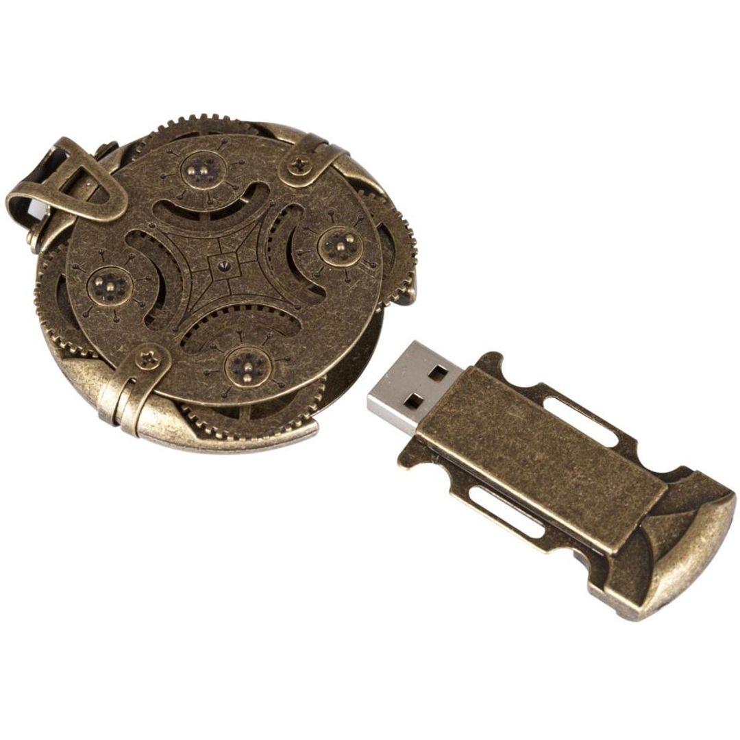 Флешка Cryptex Roundlock 32 Гб