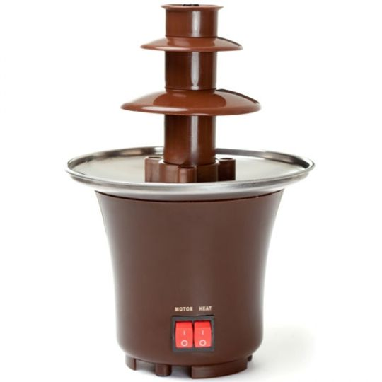 Шоколадный фонтан 2 яруса Две кнопки управления