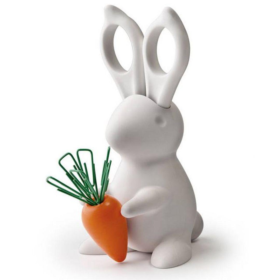 Канцелярский набор Кролик Desk Bunny Белый
