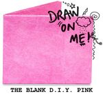 Бумажный Бумажник Mighty Wallet The Blank D.I.Y. Pink