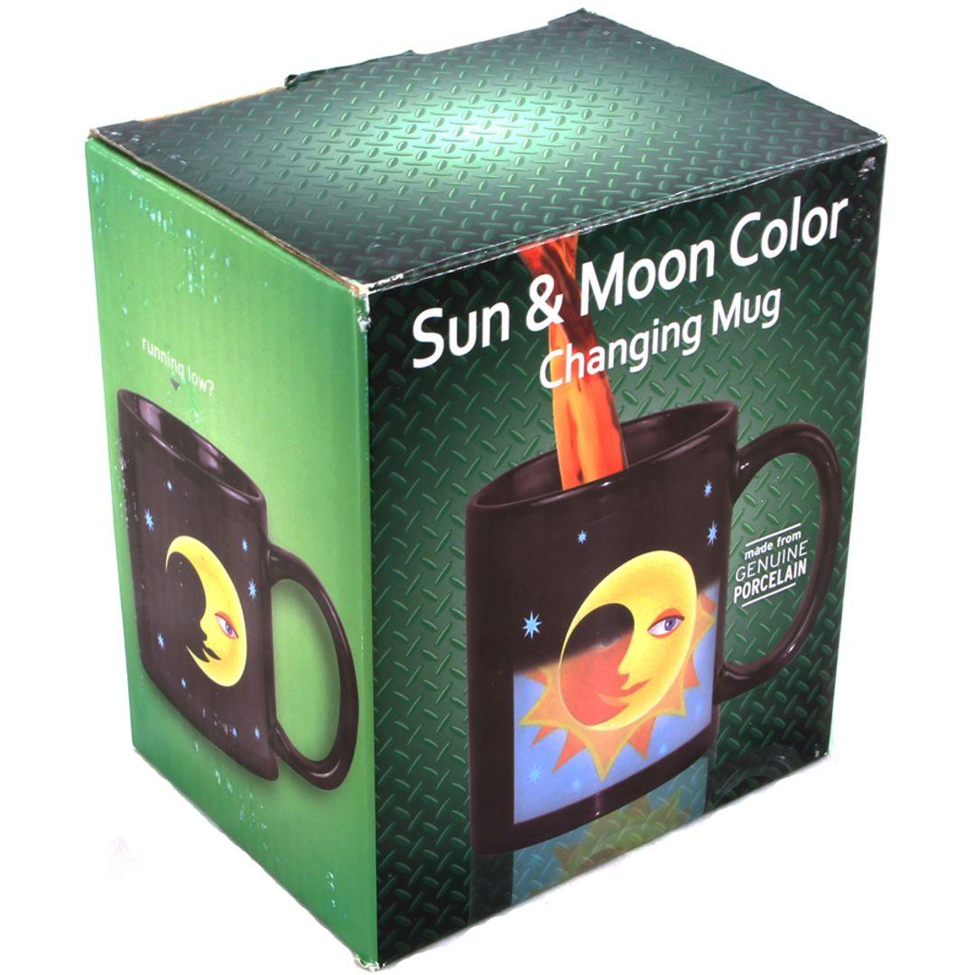 Термокружка Солнце и луна Sun & Moon Mug Упаковка