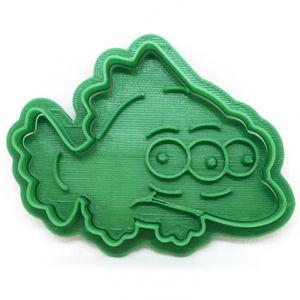 Форма для печенья Blinky (трехглазая рыба)