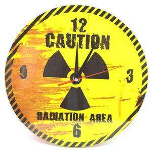 Часы настенные Радиация Radiation area