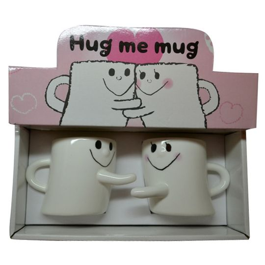 Обнимающиеся кружки Hug me mug