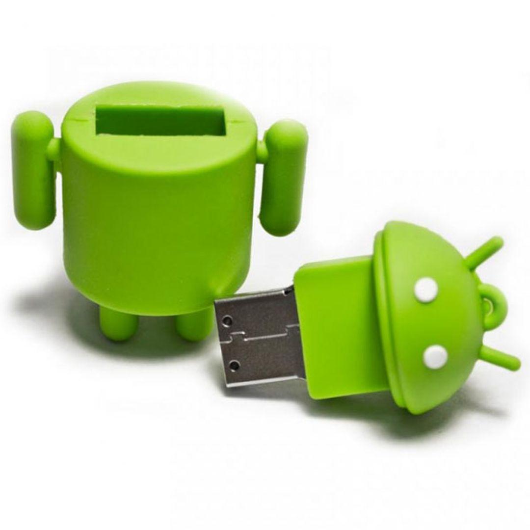 Флешка Android 16 Гб Открытая крышка