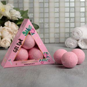 Набор бурлящих шаров Girl PWR (3 шт)