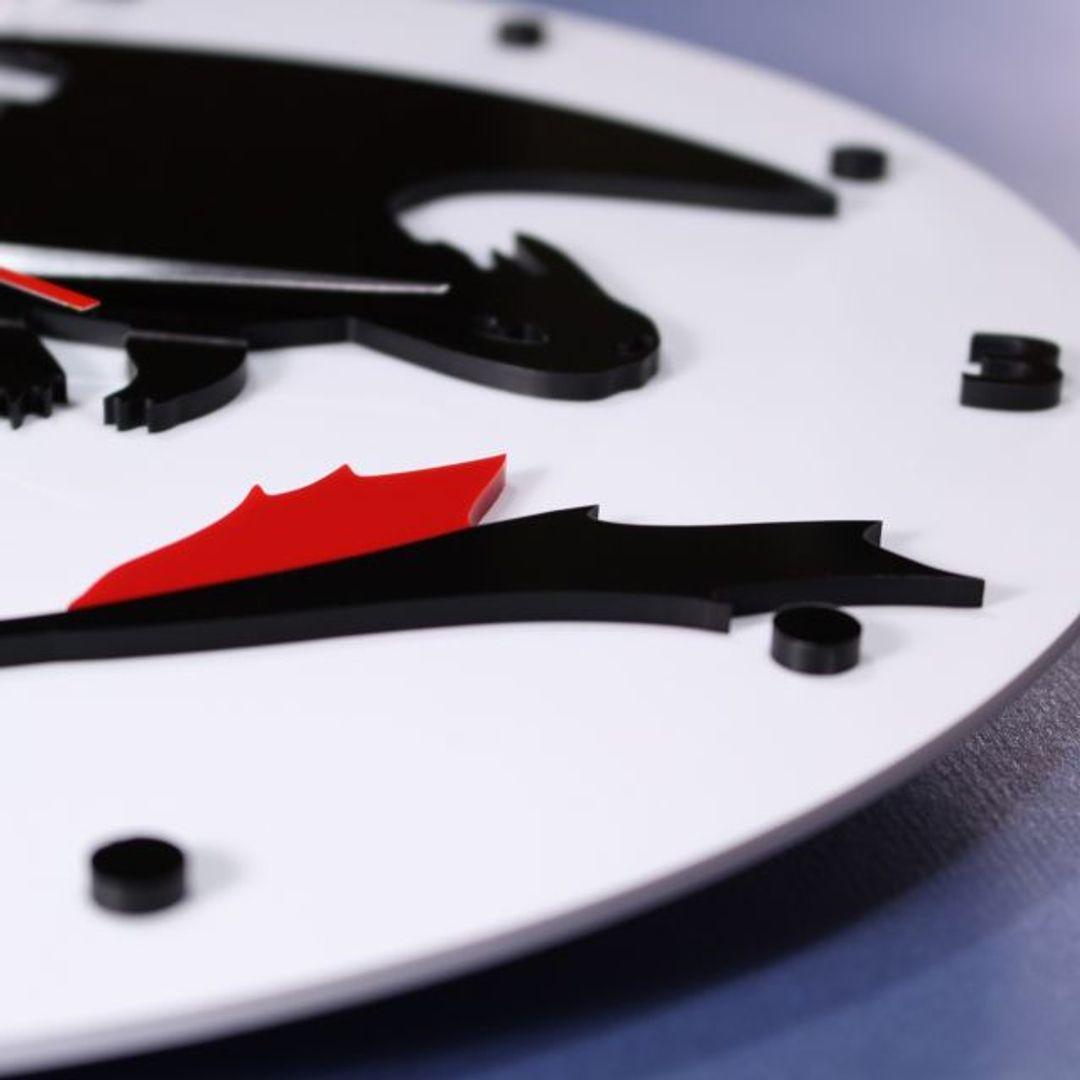 Часы настенные Беззубик How to train your dragon Крупным планом