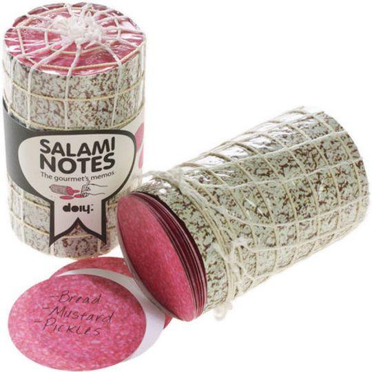 Блок для записей Салями Salami Закрытый и открытый блоки