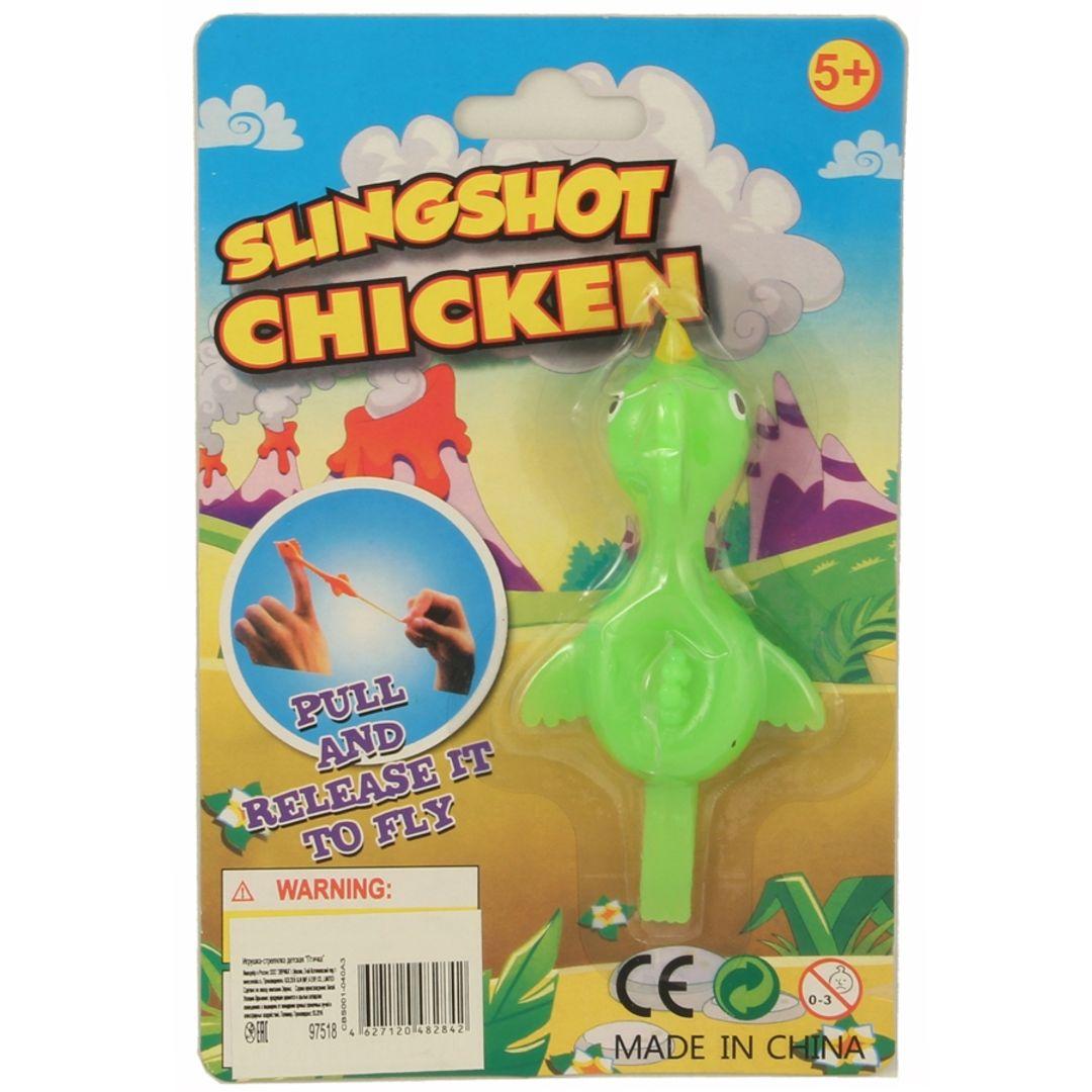 Летающий цыпленок Slingshot Chicken (Салатовый) Упаковка