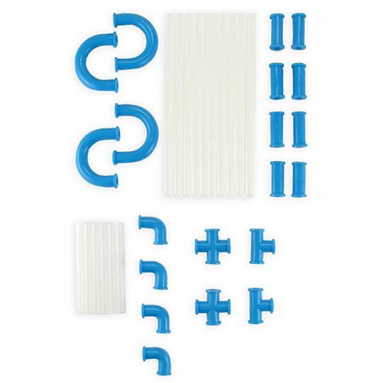 Трубопровод для напитков (Голубой) Комплект деталей