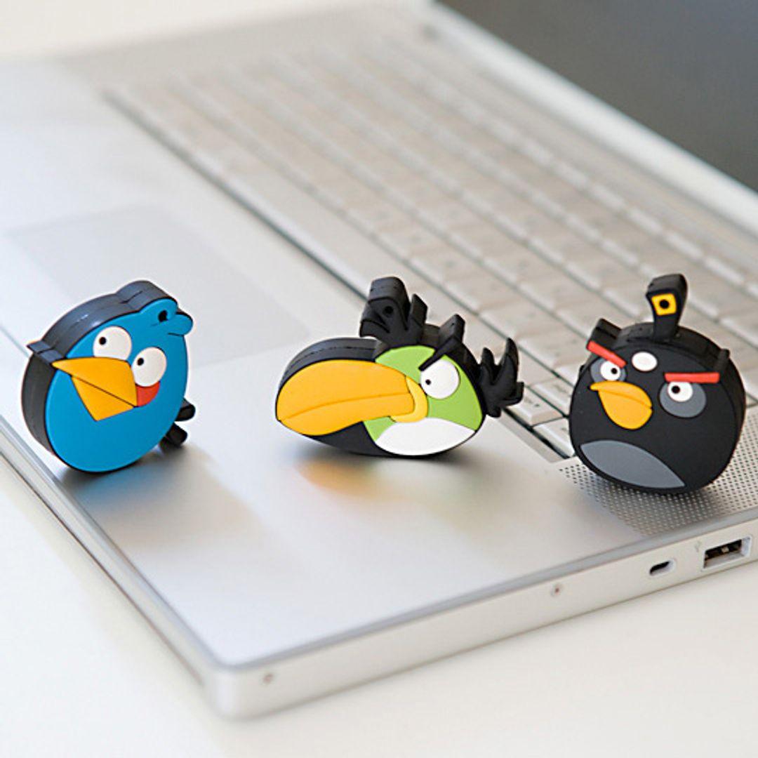 Флешка Angry Birds Синяя птичка 4 Гб