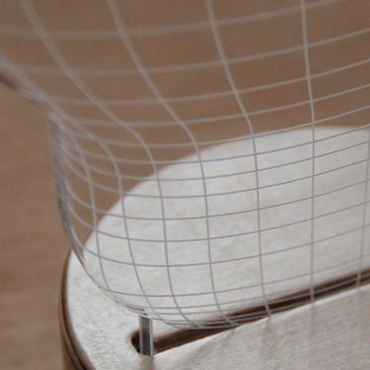 3D Лампа Лампочка Крепление к подставке