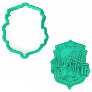 Форма для печенья Harry Potter Hufflepuff (эмблема)