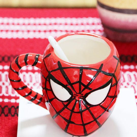 Кружка Человек-Паук Spiderman Вид сверху
