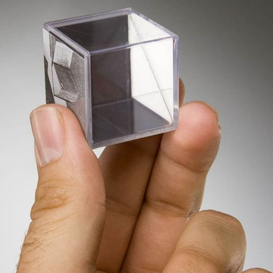 Головоломка Зеркальный Эшер Mirrorkal Escher Масштаб одного кубика