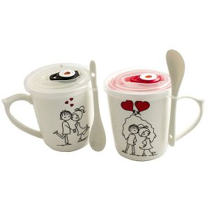 Набор чашек Влюбленная пара