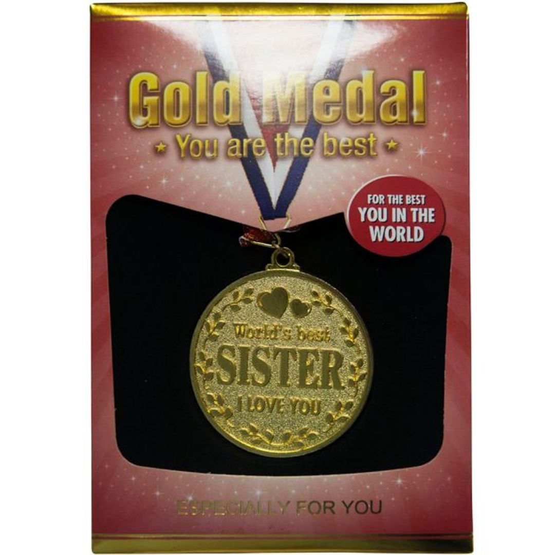 Медаль Лучшей Сестре World's Best Sister