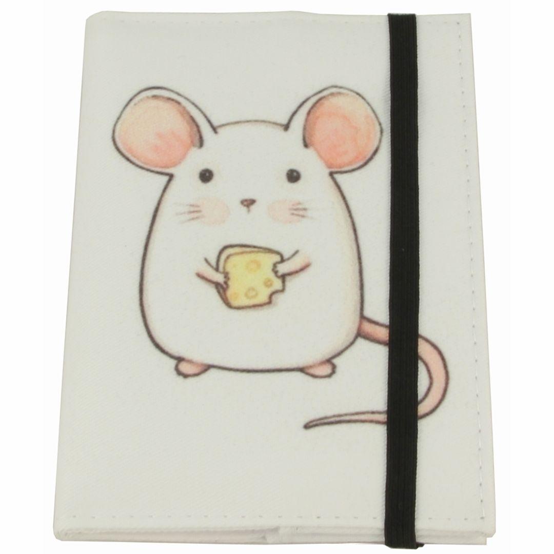 Обложка для паспорта White Mouse Фиксируется резинкой сверху