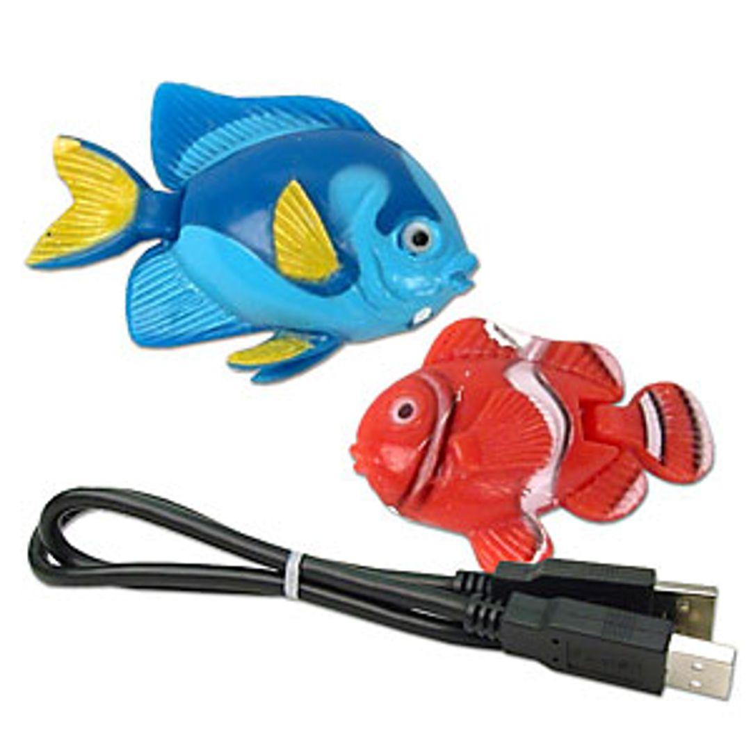 USB Аквариум Рыбки