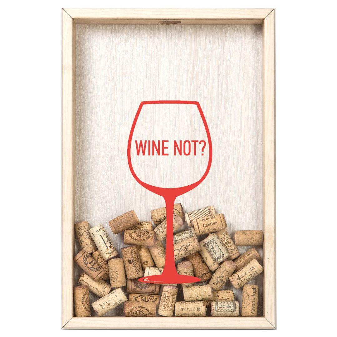 Копилка для винных пробок Wine not?