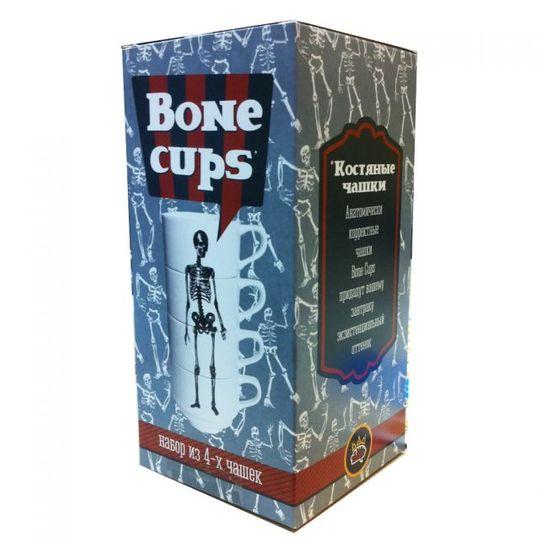 Чашки Скелет Bone Cups (4 шт.)