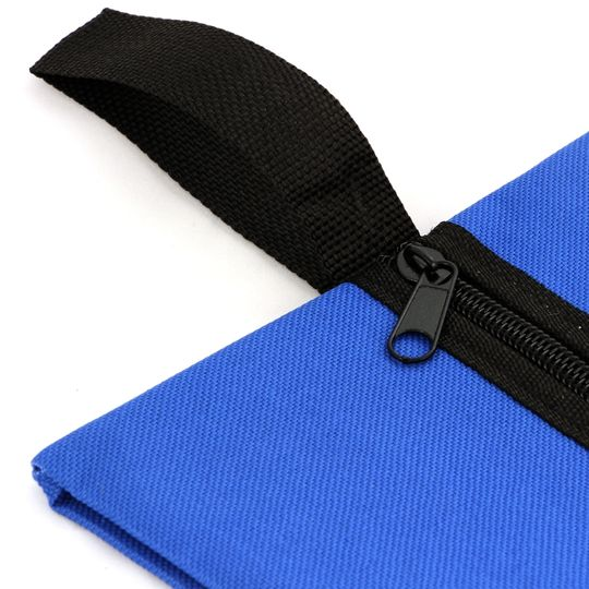 Сумка-чехол для обуви (Синяя) Ручка для переноски