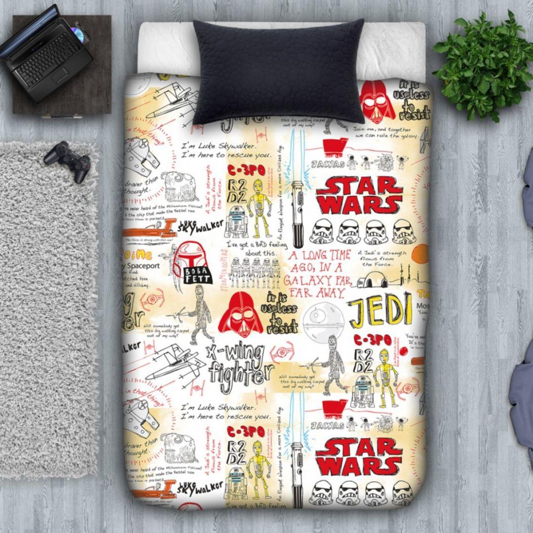 Покрывало Star Wars Граффити
