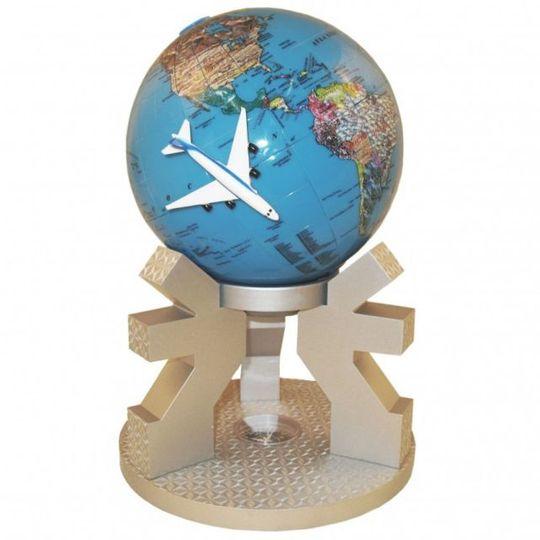 Вращающийся Глобус Полет над Землей XXL