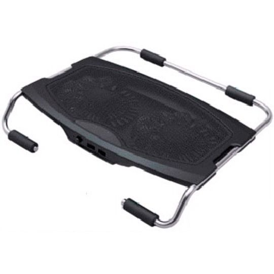 Подставка для ноутбука с 2 вентиляторами