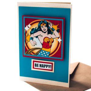 Открытка Wonder Woman