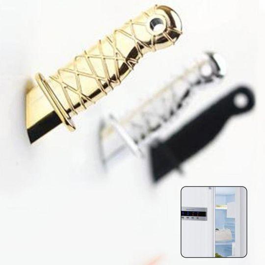 Магниты Нож (Золотистый)