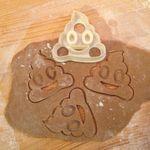 Форма для печенья Какашка Poop Emoji