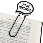 Закладка для книги To be continued