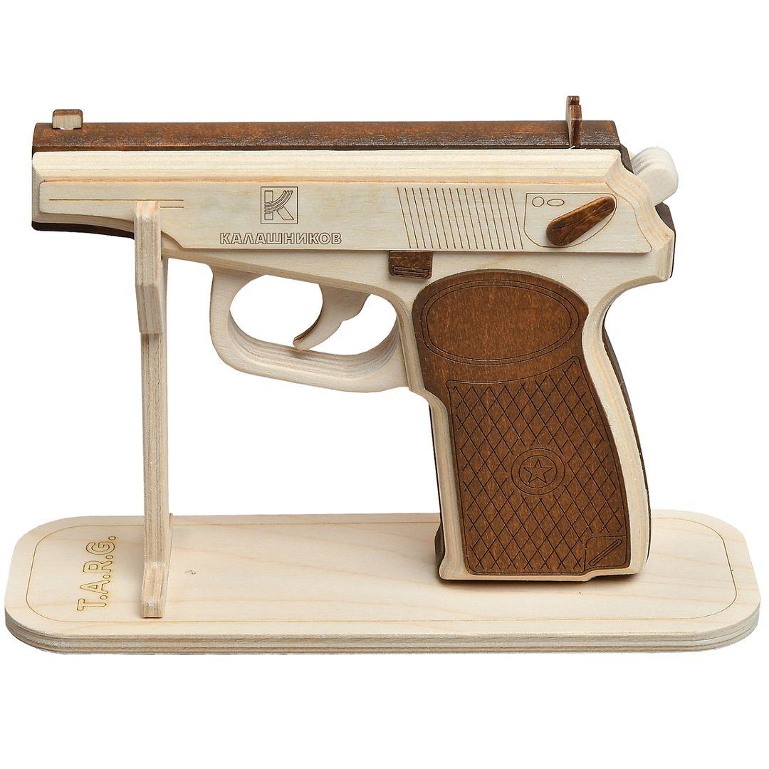 Готовая деревянная модель пистолета Макарова