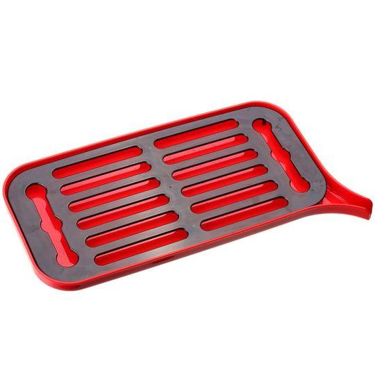 Настольная сушилка для посуды (Красный с черным)