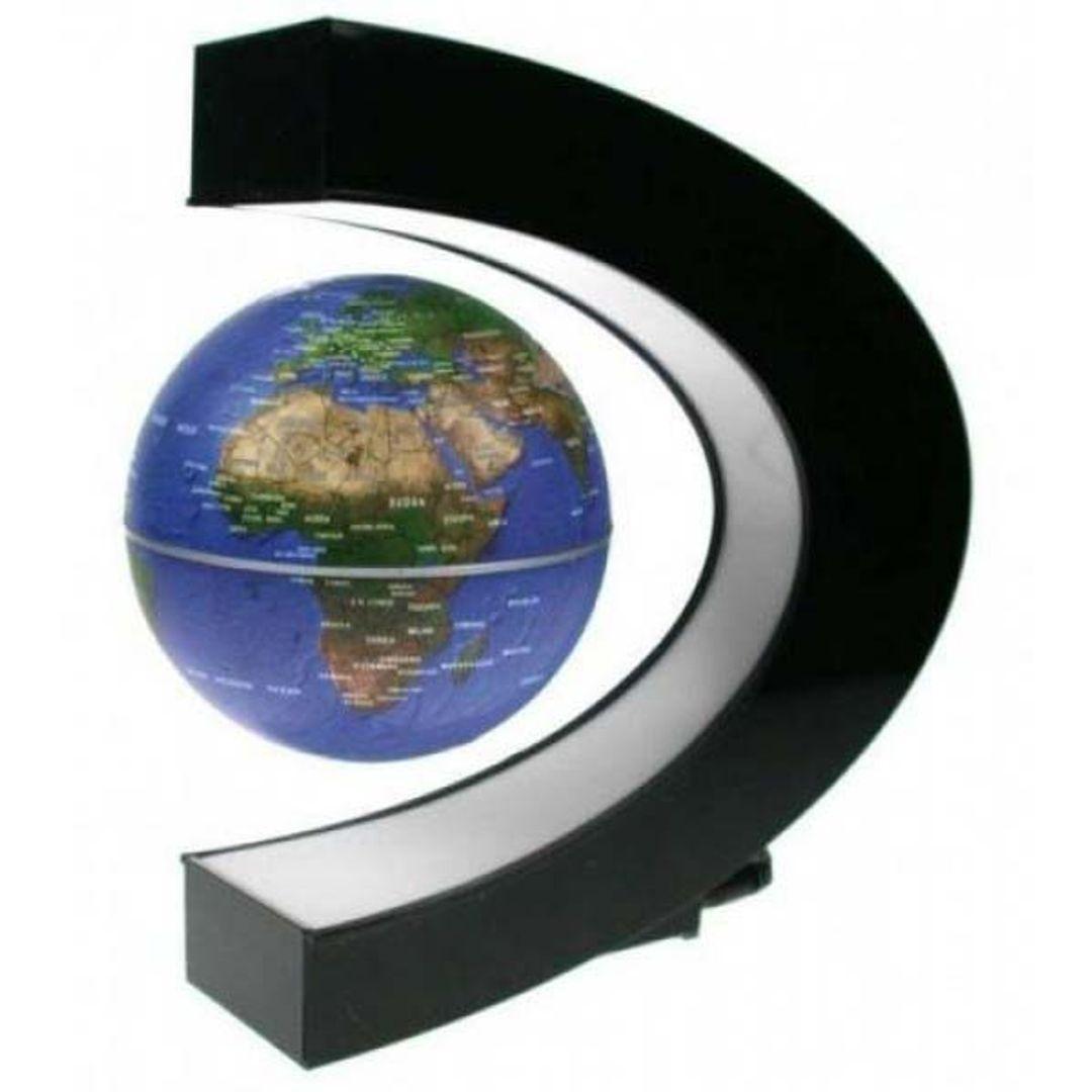 Левитирующий глобус в полуовале 9 см