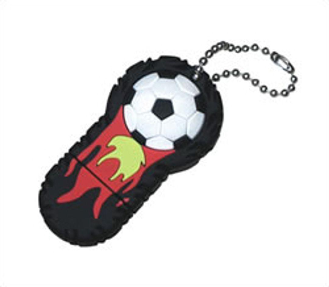 Флешка Огненный мяч 4 Гб