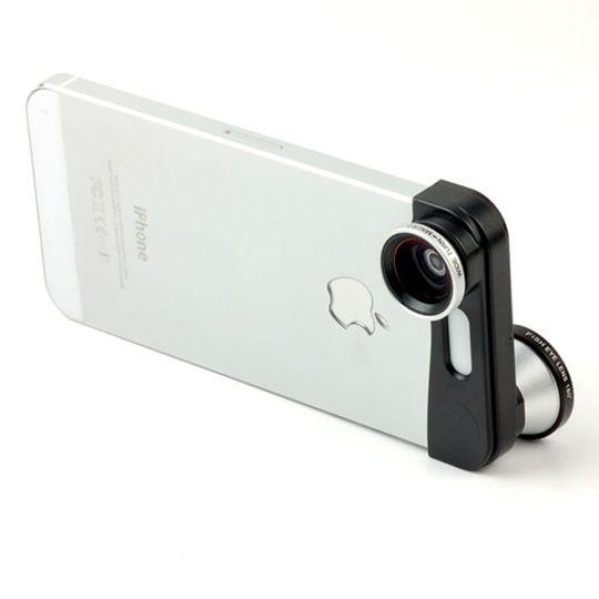 Объектив iPhone 5 3 в 1