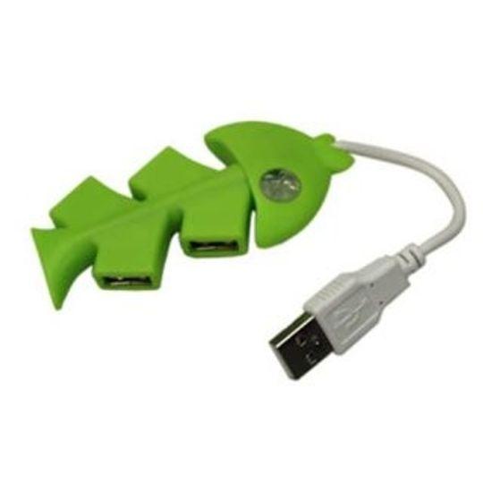 USB Хаб Рыба