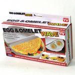 Форма для приготовления омлета и глазуньи Egg and Omelet Wave