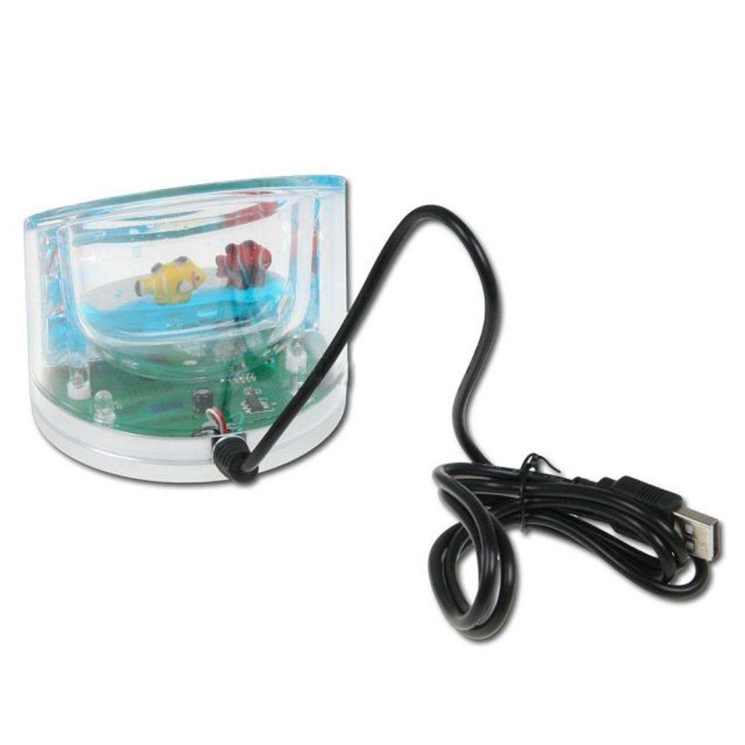 USB Хаб Аквариум Подставка для телефона