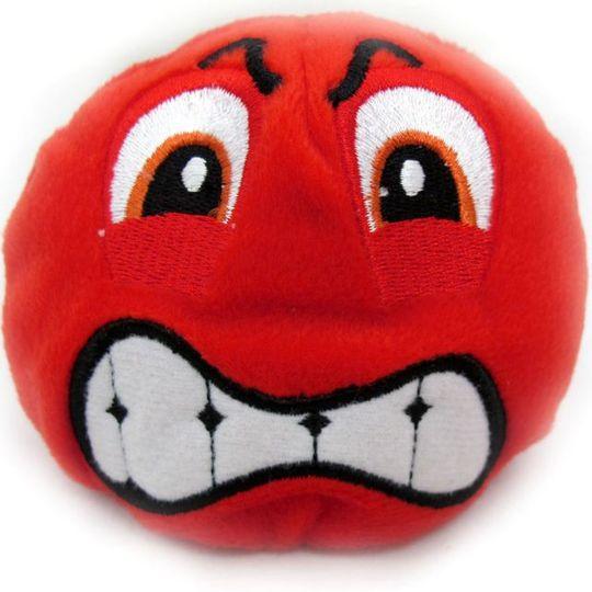 Игрушка Смайлик красный