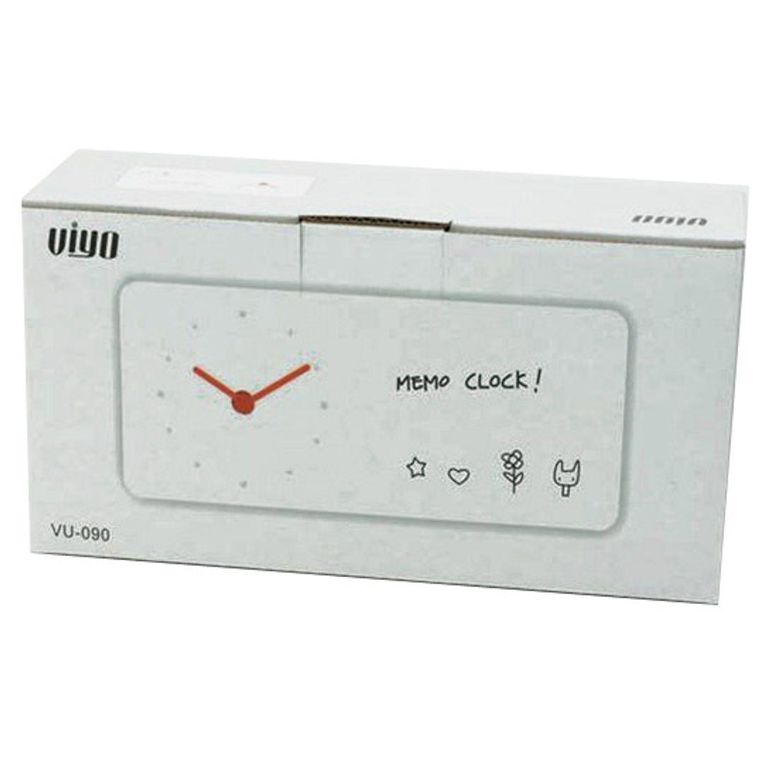 Часы с полем для заметок