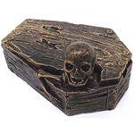Пепельница Гроб со скелетом