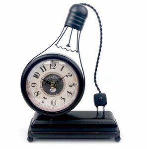 Винтажные часы Лампочка