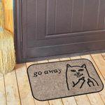 Коврик для входной двери Go away