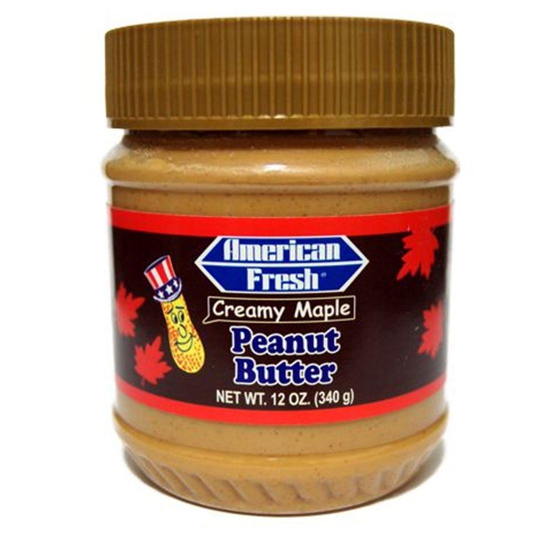 Паста арахисовая American Fresh Creamy Maple