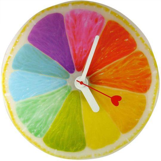 Часы настенные Апельсин