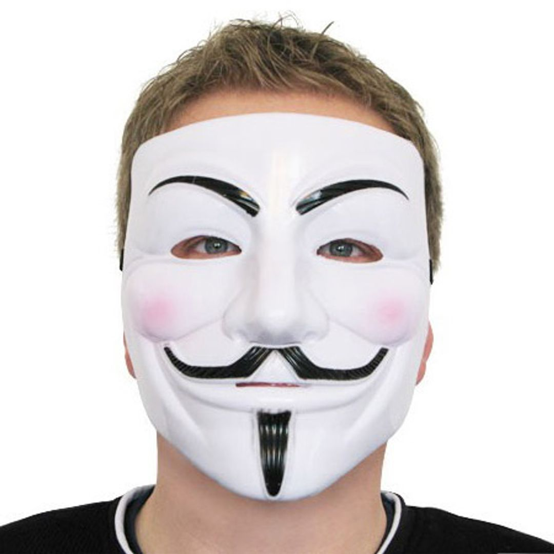 Маска Гая Фокса Анонимус