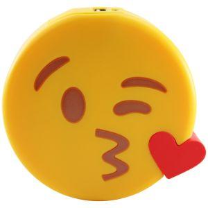 Внешний аккумулятор Power Bank Emoji Поцелуйчик